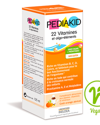 PEDIAKID 22 Vitamines et Oligo-elements