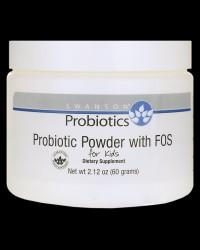 Probiotic Powder with FOS for Kids