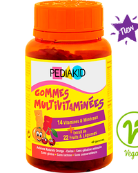 PEDIAKID Gommes Multivitaminees