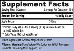 Apple Pectin 500 mg -