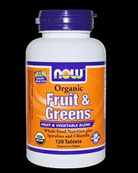 Fruit & Greens™, Organic