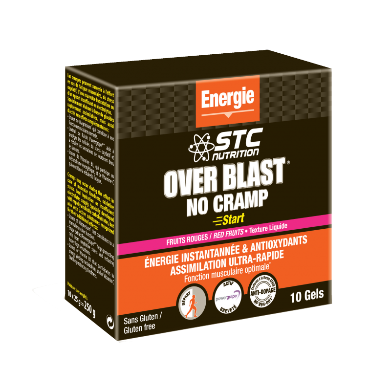 OVER BLAST® NO CRAMP START
