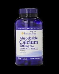 Absorbable Calcium 1200 mg with Vitamin D3 1000 I